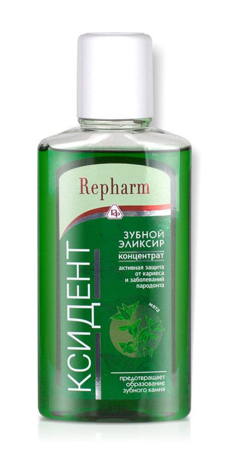 """Repharm """"Ксидент"""" Зубной эликсир концентрат, мята, 250 мл #1"""