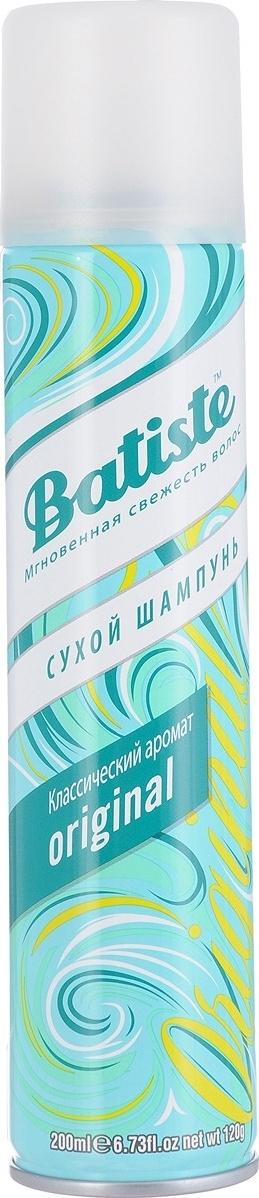 """Batiste Сухой шампунь для волос """"Original"""", с нежным классическим ароматом, 200 мл  #1"""