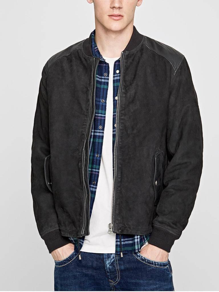 Кожаная куртка Pepe Jeans #1