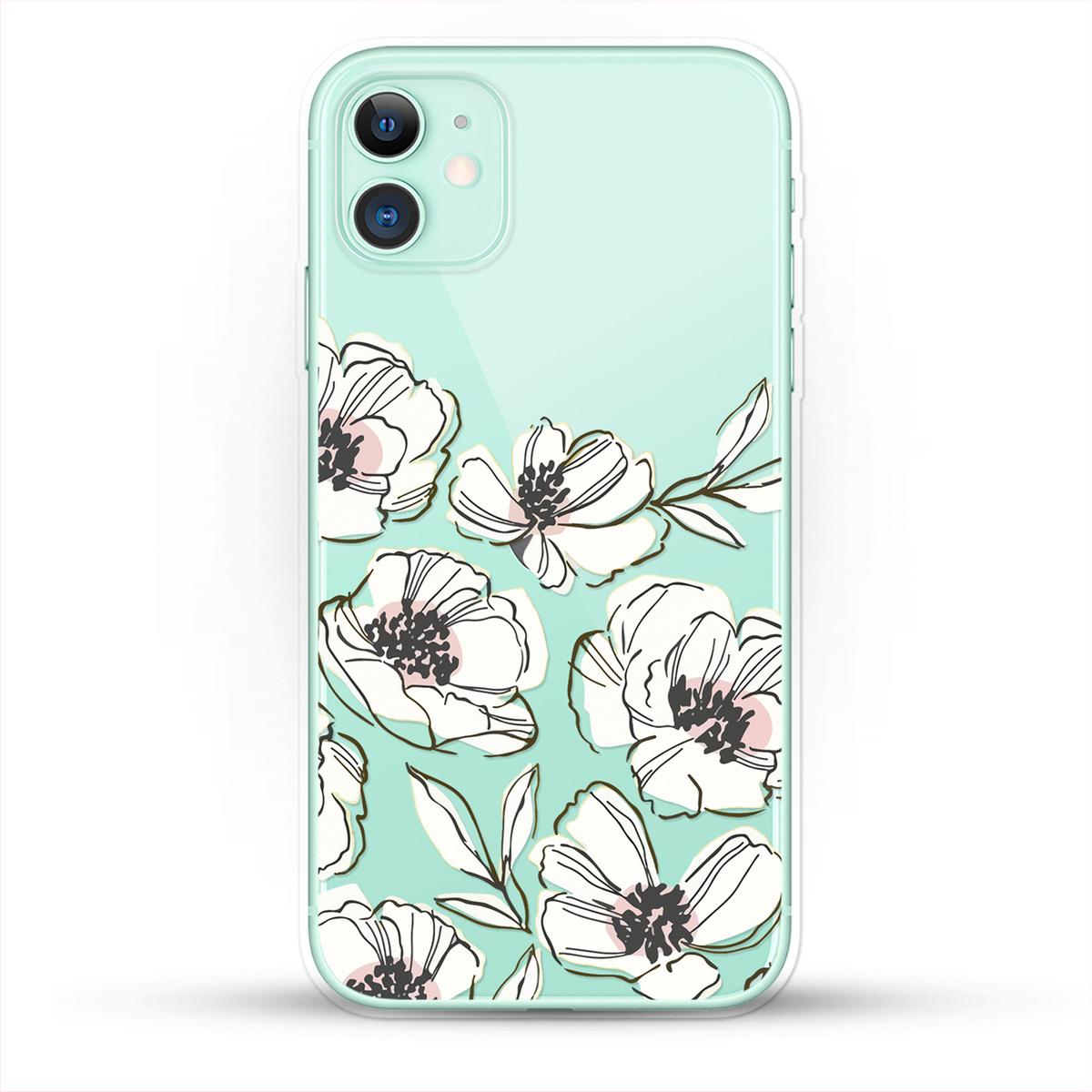 """Силиконовый чехол """"Цветы"""" на Apple iPhone 11 / для Эпл Айфон 11 — купить в  интернет-магазине OZON с быстрой доставкой"""