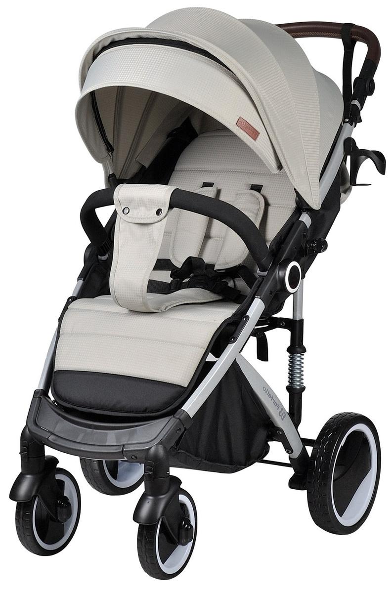 Коляска детская прогулочная Bino Angel Plus Стальной серый #1