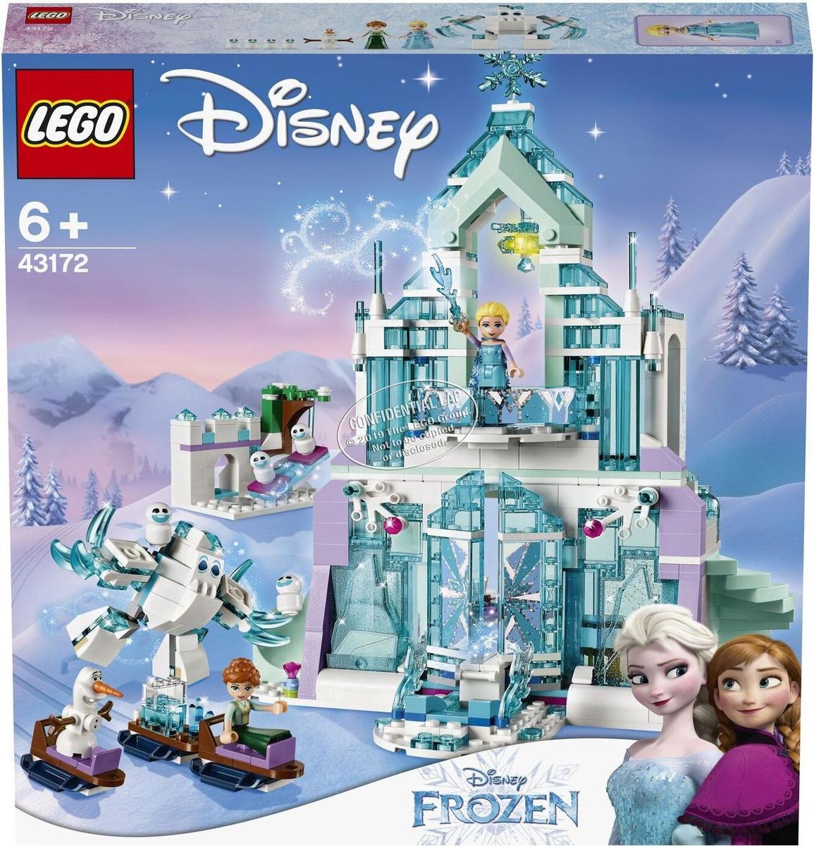 Конструктор LEGO Disney Frozen 43172 Волшебный ледяной замок Эльзы  #1