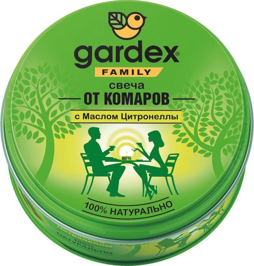 Свеча от комаров Gardex Family, репеллентная, 110 г #1