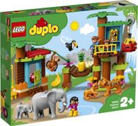 Конструктор LEGO DUPLO 10906 Тропический остров. Наши лучшие предложения