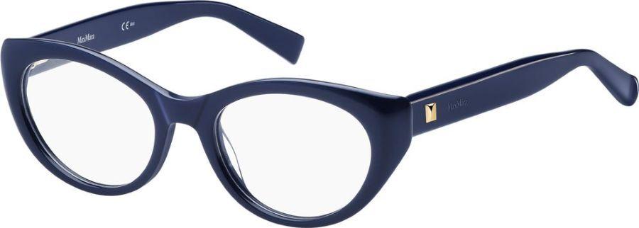 Оправа для очков женская Max Mara 1300, MAX-100113PJP5019, синий оправа max