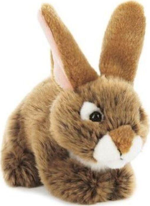 Мягкая игрушка Teddykompaniet Заяц, коричневый, 19 см
