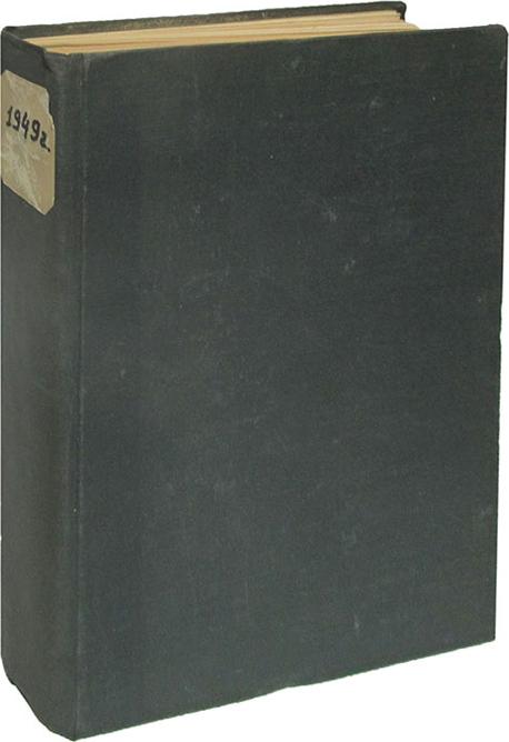 Журнал Радио. № 1-12. Конволют 1949 год