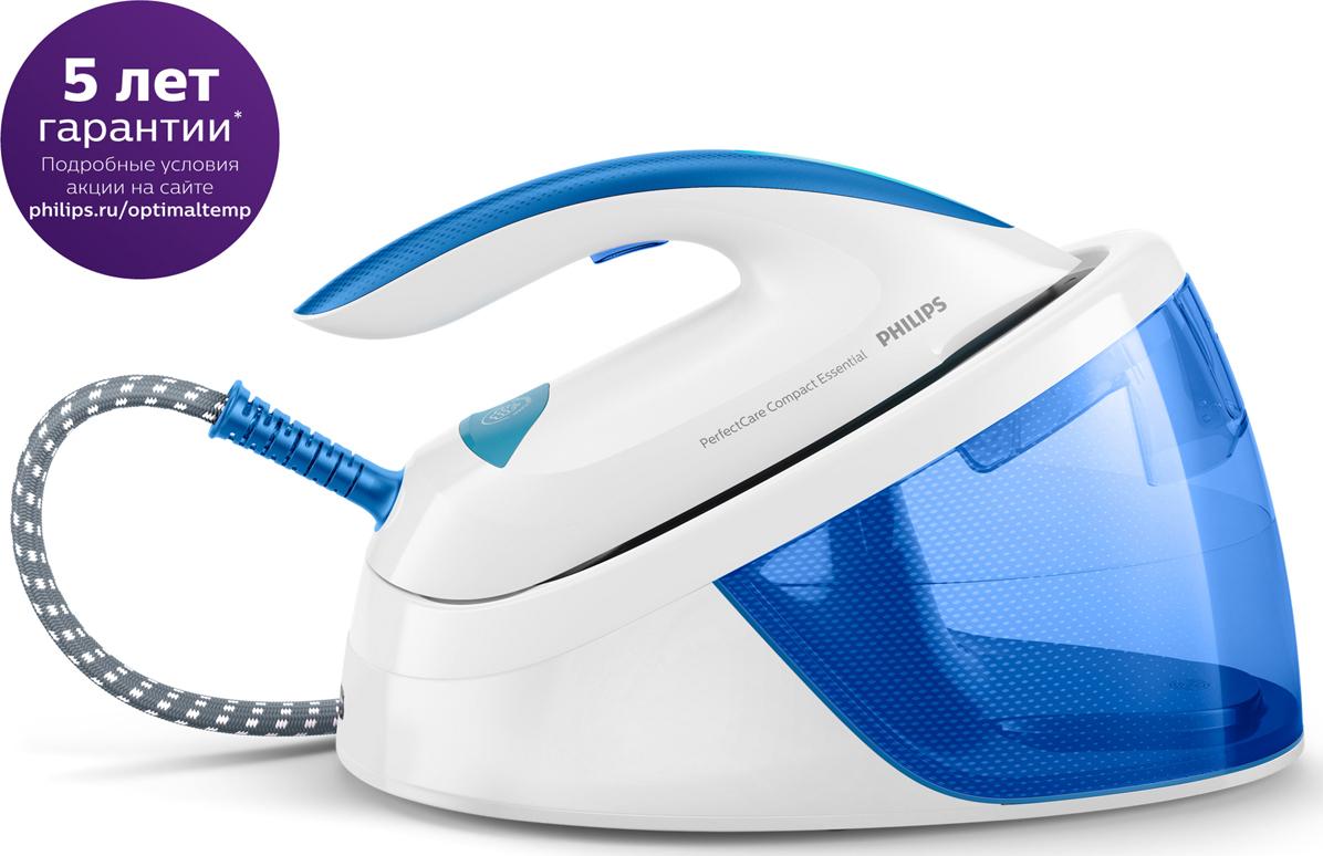 Парогенератор Philips GC6804/20 PerfectCare Compact Essential, White Blue