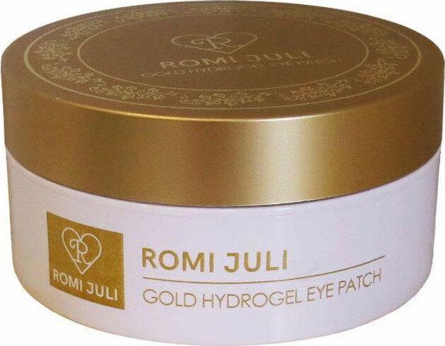 Патчи вокруг глаз гидрогелевые с золотом и коллагеном Romi Juli Gold Hydrogel Eye Patch, 60 шт