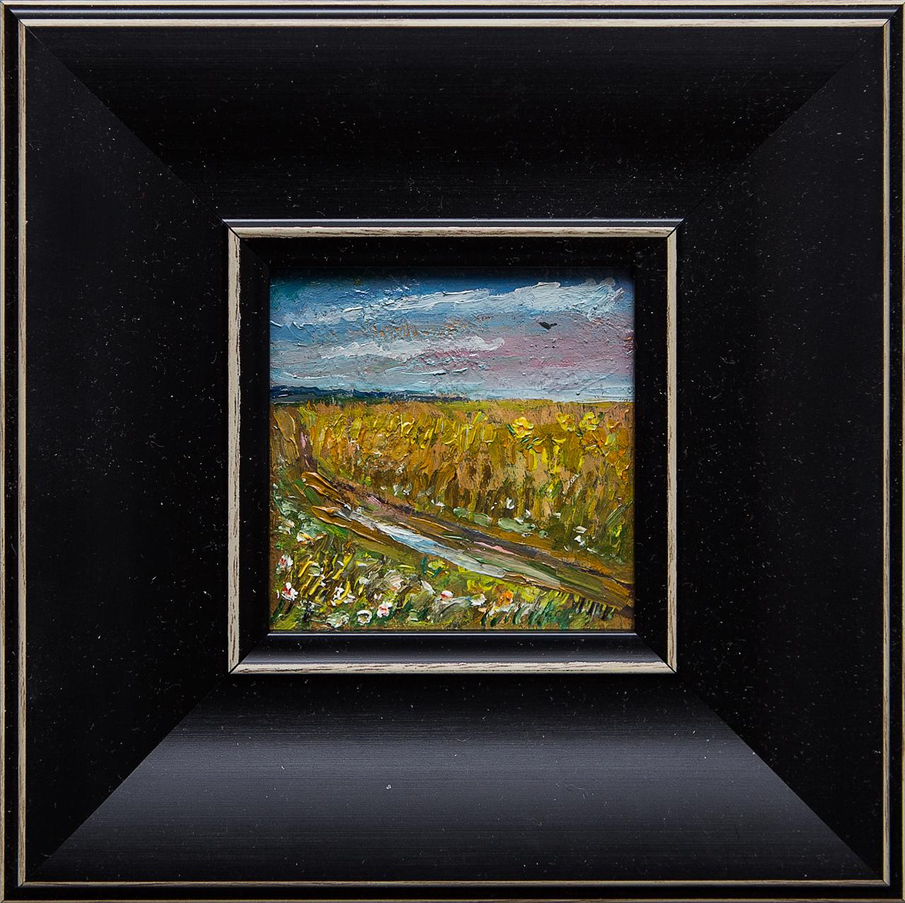Картина маслом Поле Мифтахов картина маслом подсолнухи мифтахов