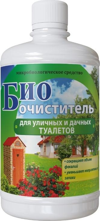Биоочиститель Сила жизни для уличных и дачных туалетов 0,5л