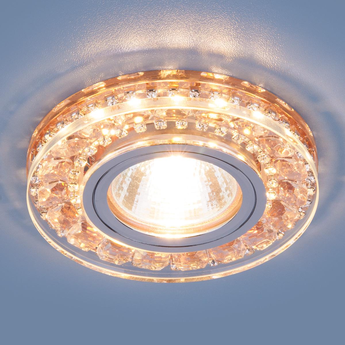 Встраиваемый светильник Elektrostandard Точечный светодиодный 2192 MR16 GD, G5.3 светильник встраиваемый escada milano gu5 3 001 gd