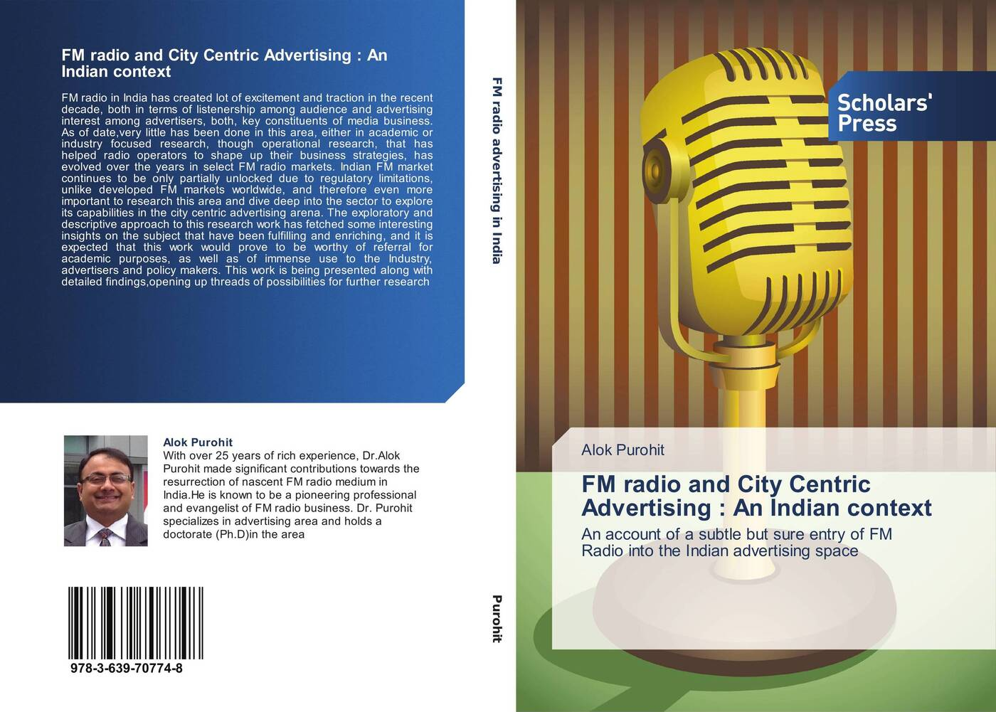 Alok Purohit FM radio and City Centric Advertising : An Indian context fm radio language and its effect on the young listeners