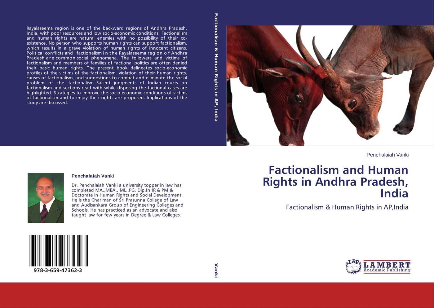 Penchalaiah Vanki Factionalism and Human Rights in Andhra Pradesh, India kolber adél sanctions alleviating or deepening the violation of human rights