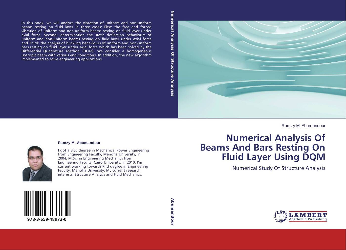 Ramzy M. Abumandour Numerical Analysis Of Beams And Bars Resting On Fluid Layer Using DQM a man in uniform