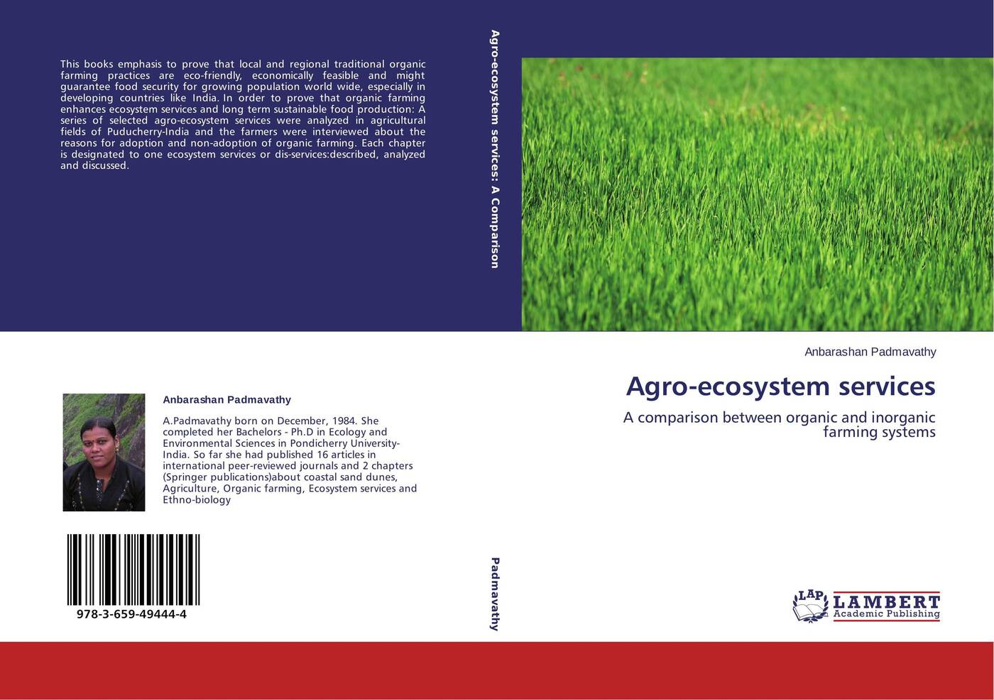 Anbarashan Padmavathy Agro-ecosystem services robert costanza ecosystem services in agricultural and urban landscapes