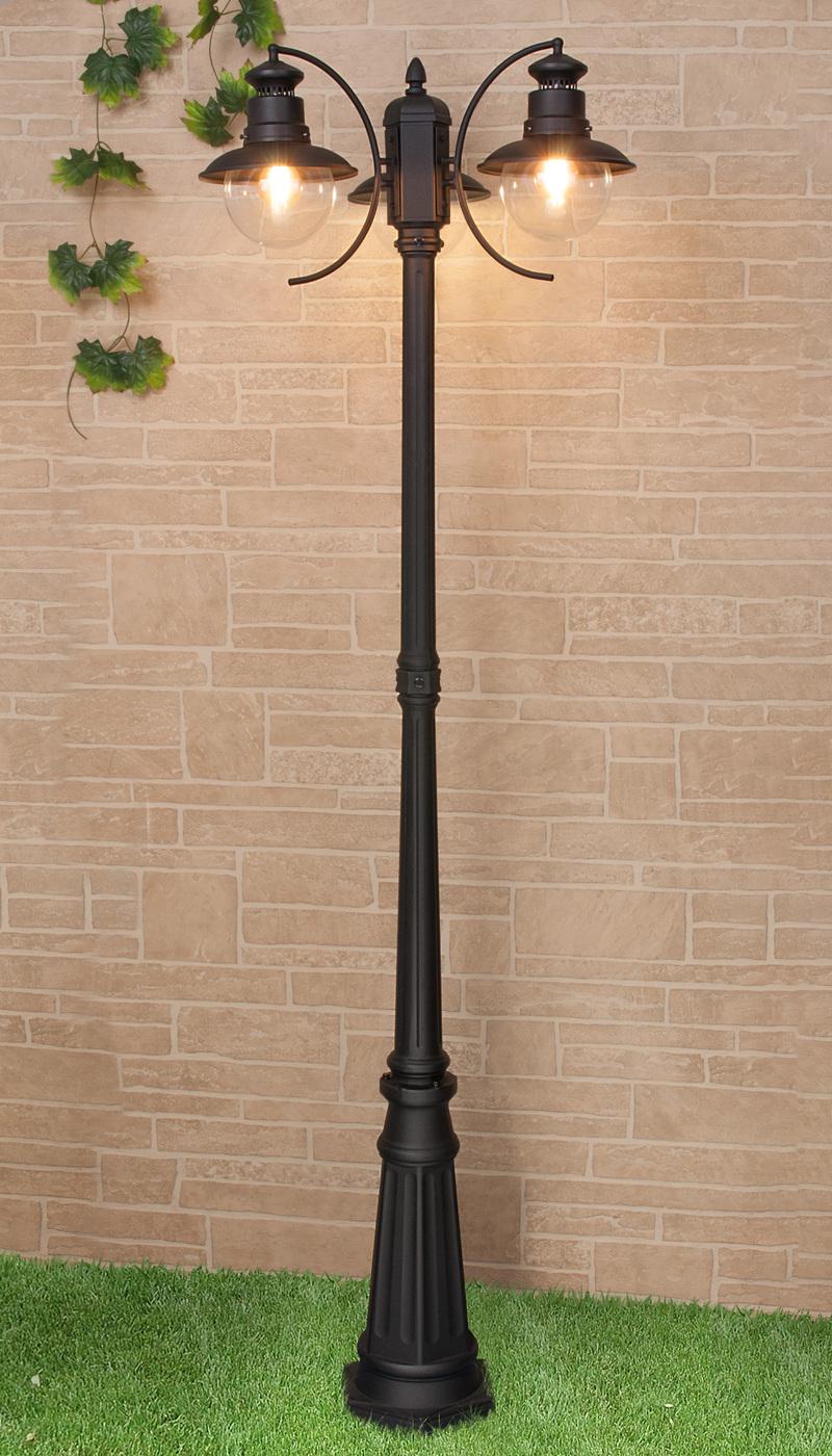 Садовое освещение Elektrostandard a038487, E27 фонарный столб talli f 3 gl 3002f 3 брауни