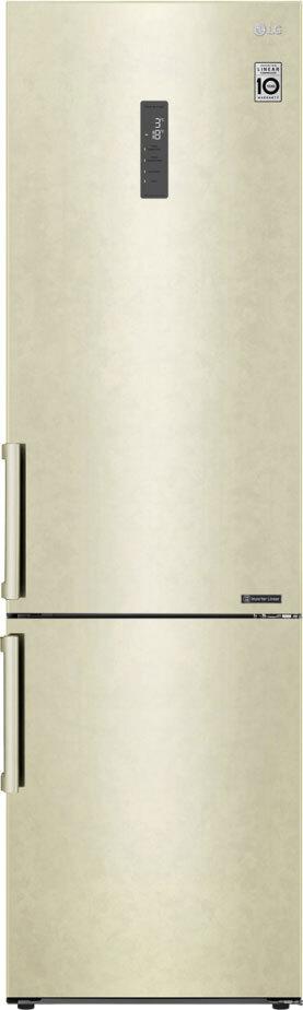 Холодильник LG GA-B509BEGL, бежевый