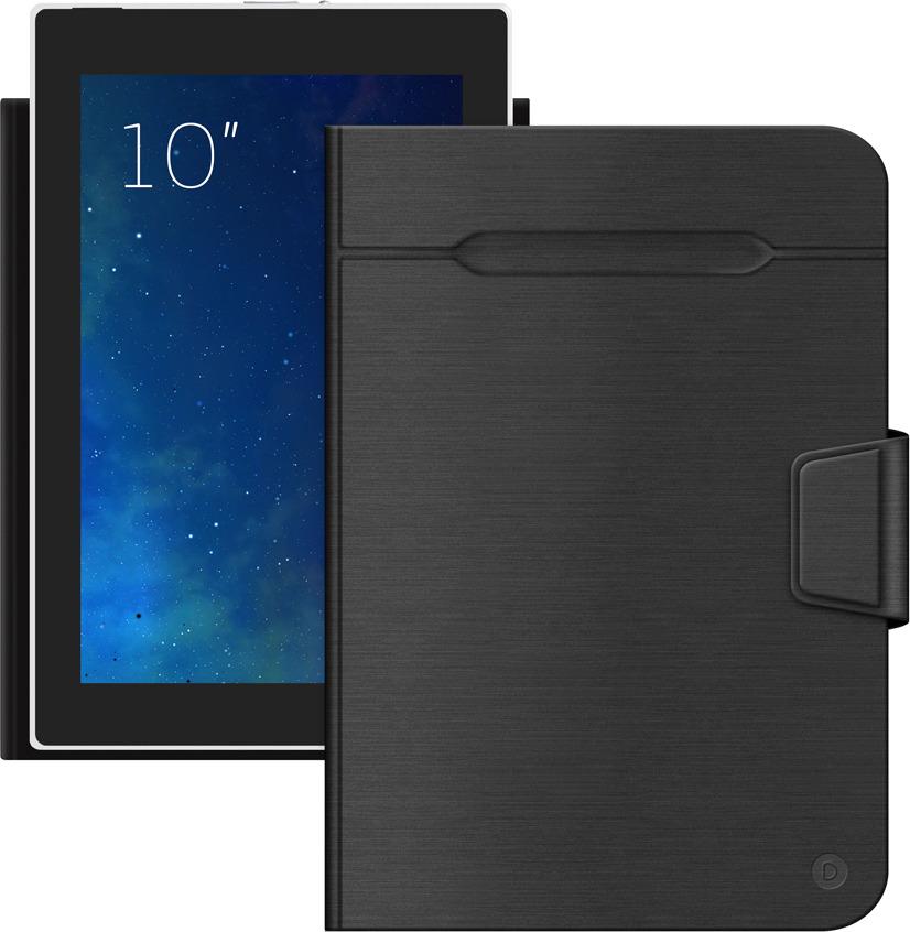 Чехол-подставка для планшетов Wallet Fold 10'', черный, Deppa стоимость