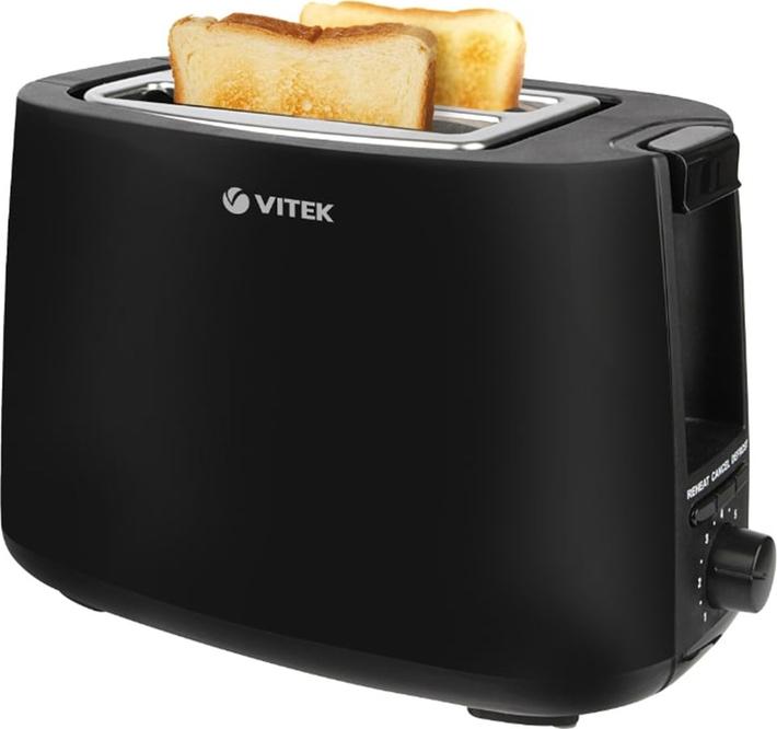 Тостер Vitek VT-7157(BK) тостер vitek vt 1578 750вт 6реж