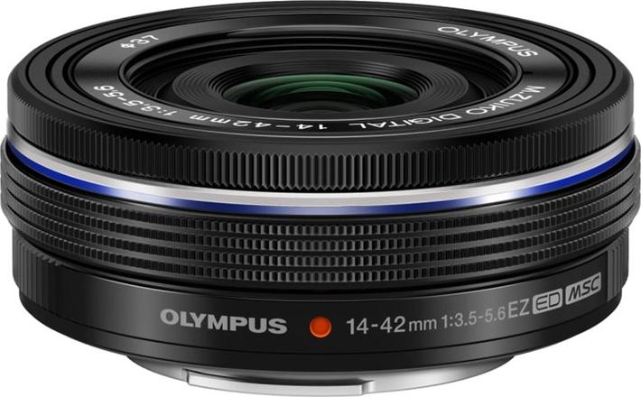 Объектив Olympus M.Zuiko Digital ED 14-42mm F3.5-5.6 EZ, черный