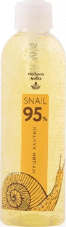 Многофункциональный гель Snail 95% с муцином улитки Natura vita