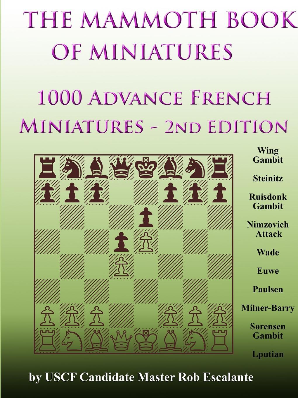 Книга 1000 Advance French Miniatures. Rob Escalante