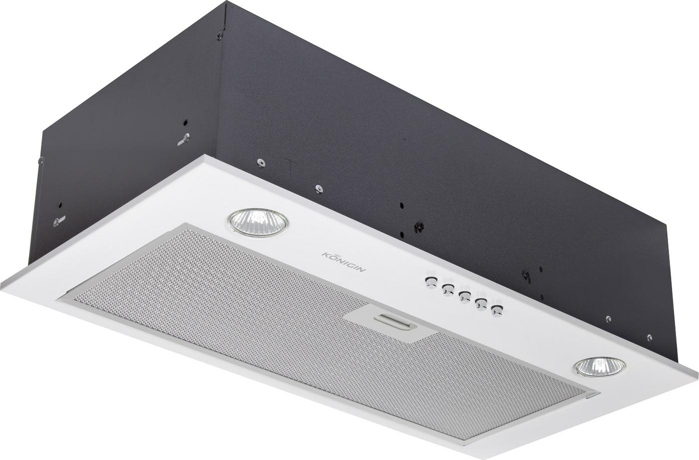 Кухонная вытяжка Konigin Inbox Plus (White 60) Угольный фильтр для использования в режиме рециркуляции...