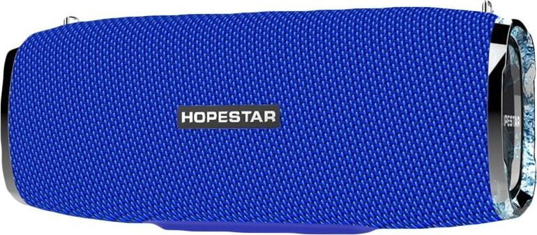 Портативная bluetooth колонка Hopestar A6 синяя 35W