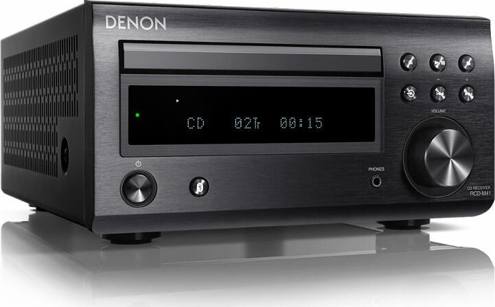 Проигрыватель CD ресивер Denon RCD-M41 черный