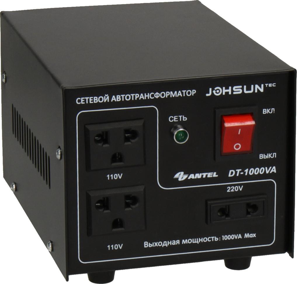 Трансформатор JOHSUN DT-1000 Сетевой автотрансформатор Johsun DT-1000...