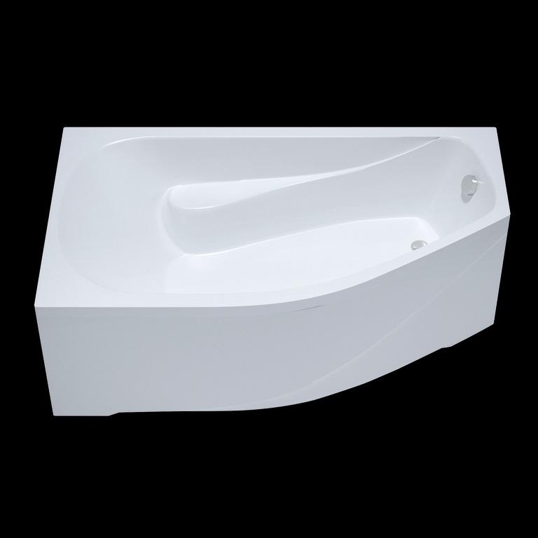 Акриловая ванна Triton Скарлет 167x96 асимметричная правая