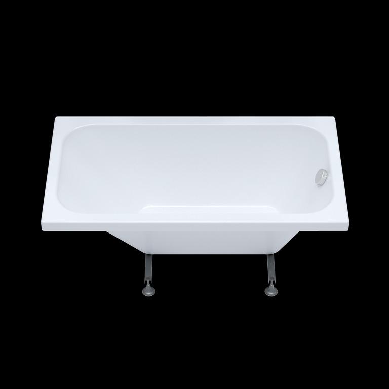 Акриловая ванна Triton Ультра 120x70 прямоугольная