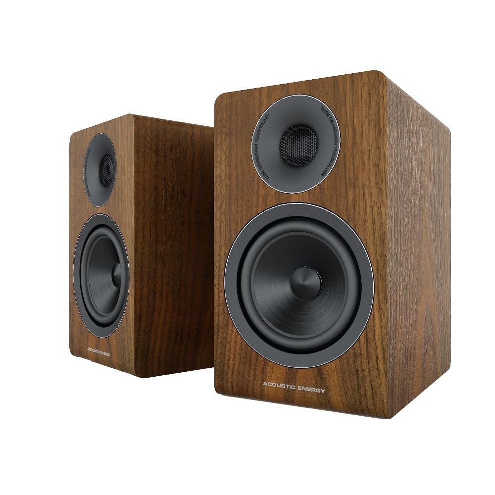 Полочная акустика Acoustic Energy AE300 (2018) Walnut wood veneer