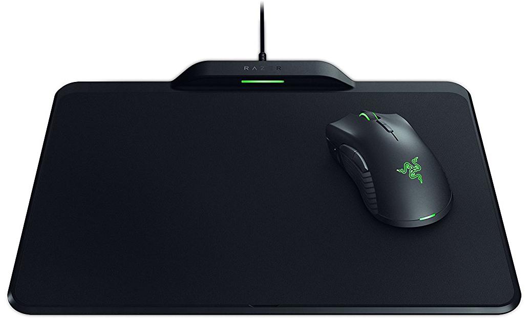Игровая мышь + Коврик Razer Mamba HyperFlux & Razer Firefly HyperFlux Bundle