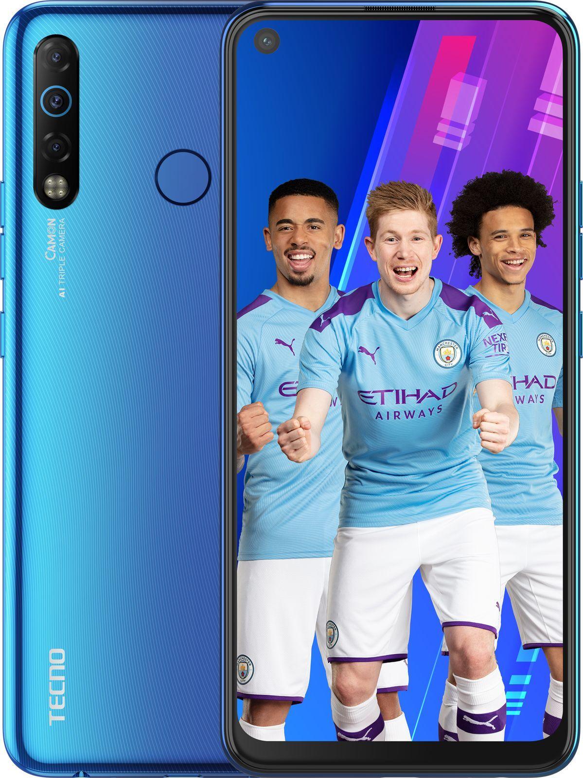 Смартфон Tecno Camon 12 Air 3/32GB, синий