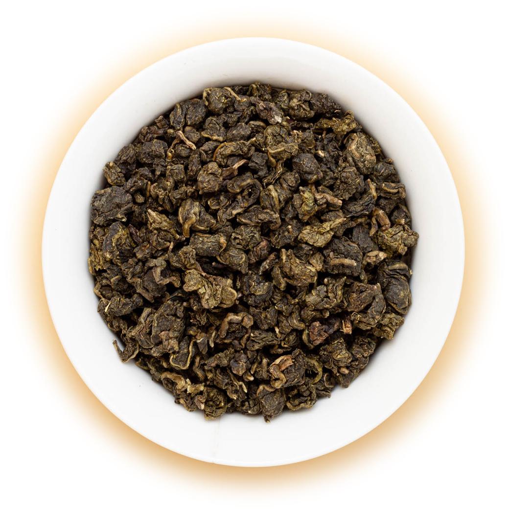 Чай Те Гуань Инь (китайский улун, Tieguanyin Oolong, Железная Богиня Милосердия, Бирюзовый Чай), Белая Обезьяна, 100г