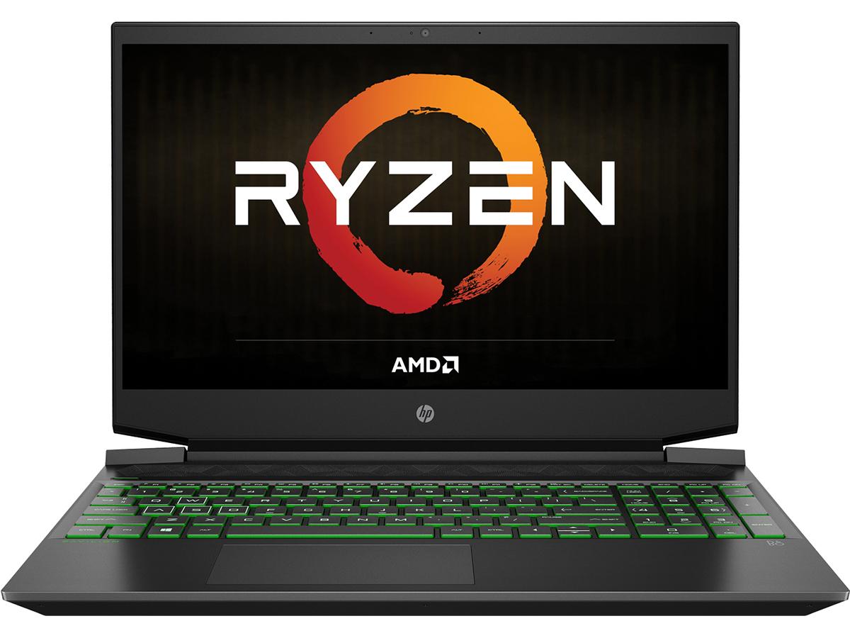 """15.6"""" Игровой ноутбук HP ec1089ur, AMD Ryzen 5 4600H (3.0 ГГц), RAM 8 ГБ, HDD, SSD 1256 ГБ, NVIDIA GeForce GTX 1650 (4 Гб), Без системы, (2Z7H3EA)"""