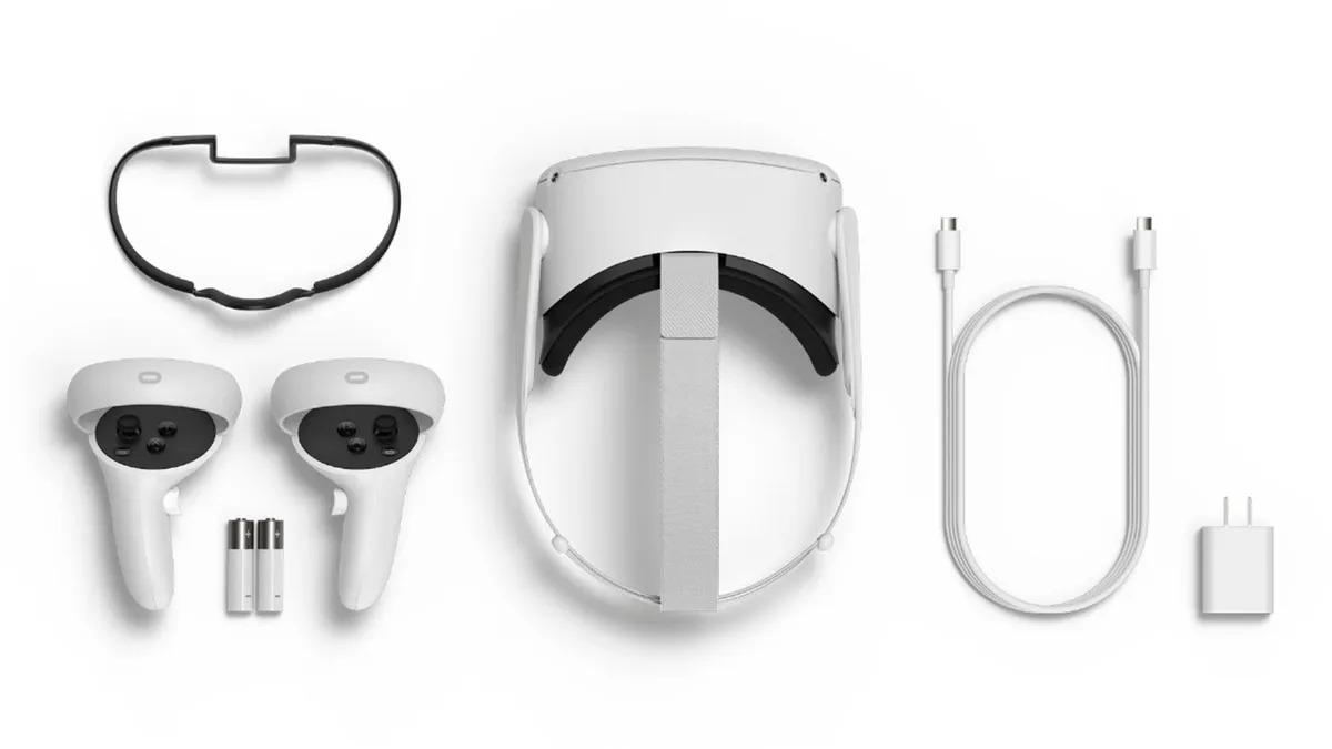 Шлем виртуальной реальности Oculus Quest 2 (64gb) Open Box