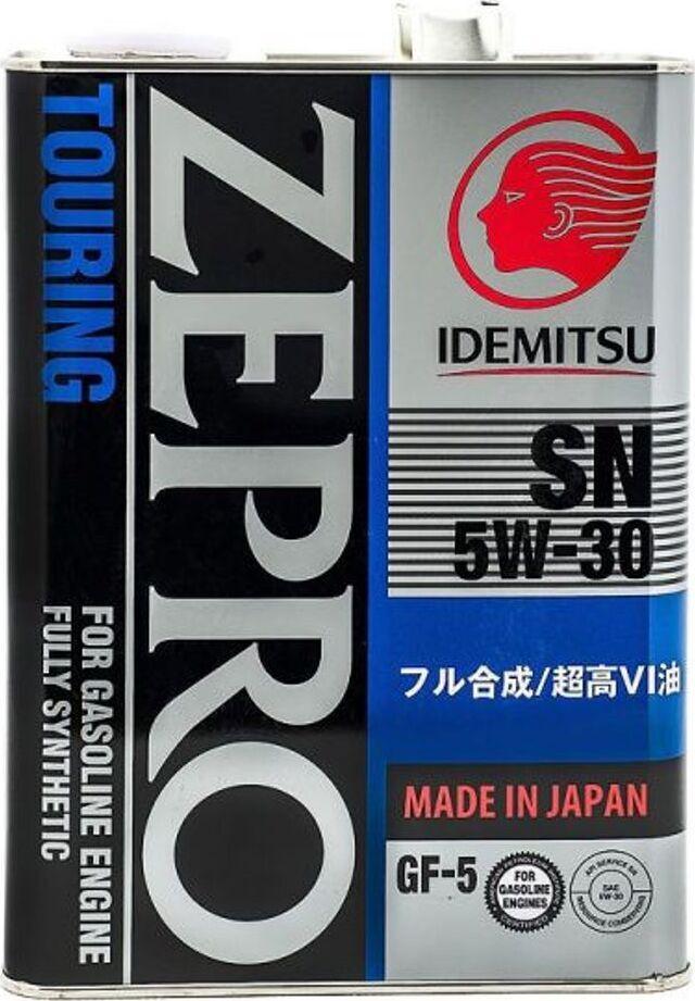 Моторное масло IDEMITSU ZEPRO TOURING 5W-30 Синтетическое 4 л #1