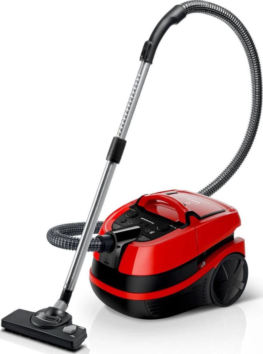 Моющий пылесос Bosch ProAnimal BWD421PET, красный #1