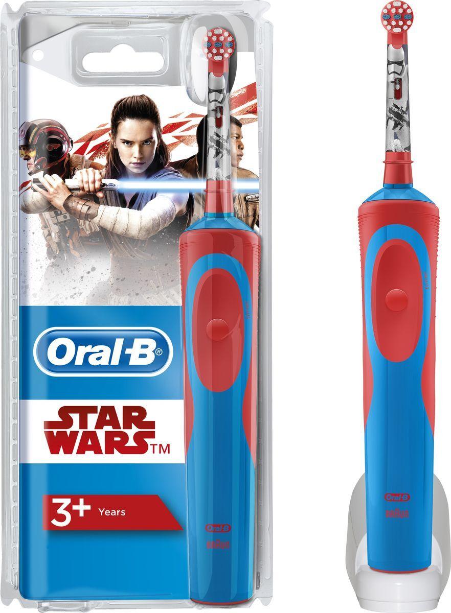 """Электрическая зубная щетка Oral-B Stages Power D12K """"StarWars""""  #1"""