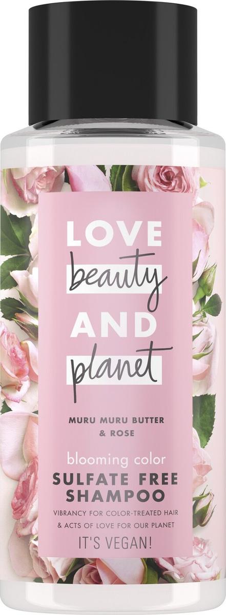 Love Beauty&Planet Цветущий цвет шампунь для волос, бессульфатный, 400 мл  #1