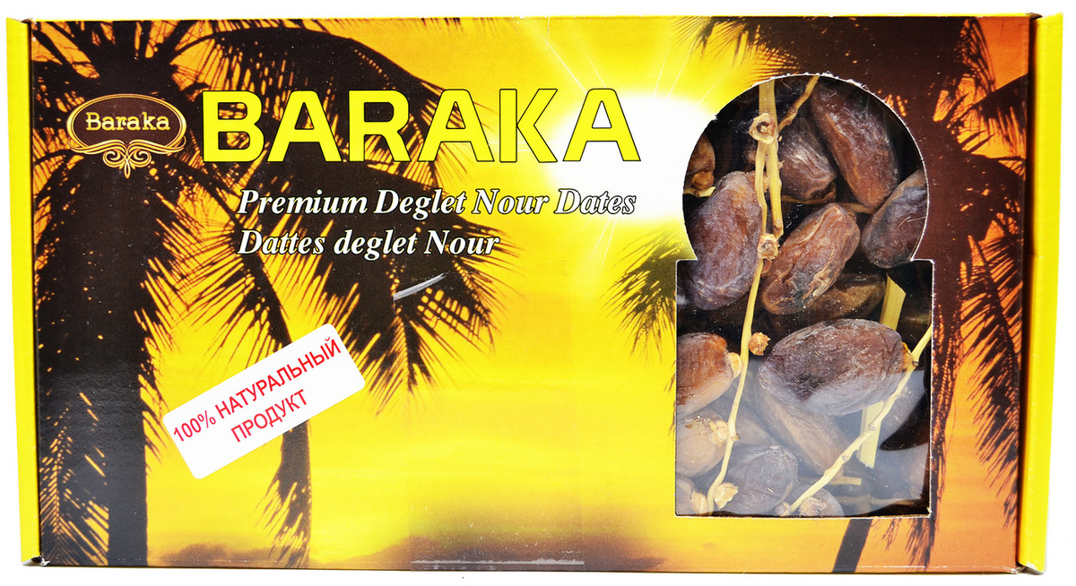 """Финики """"BARAKA"""" (Тунис) 1000 гр. #1"""