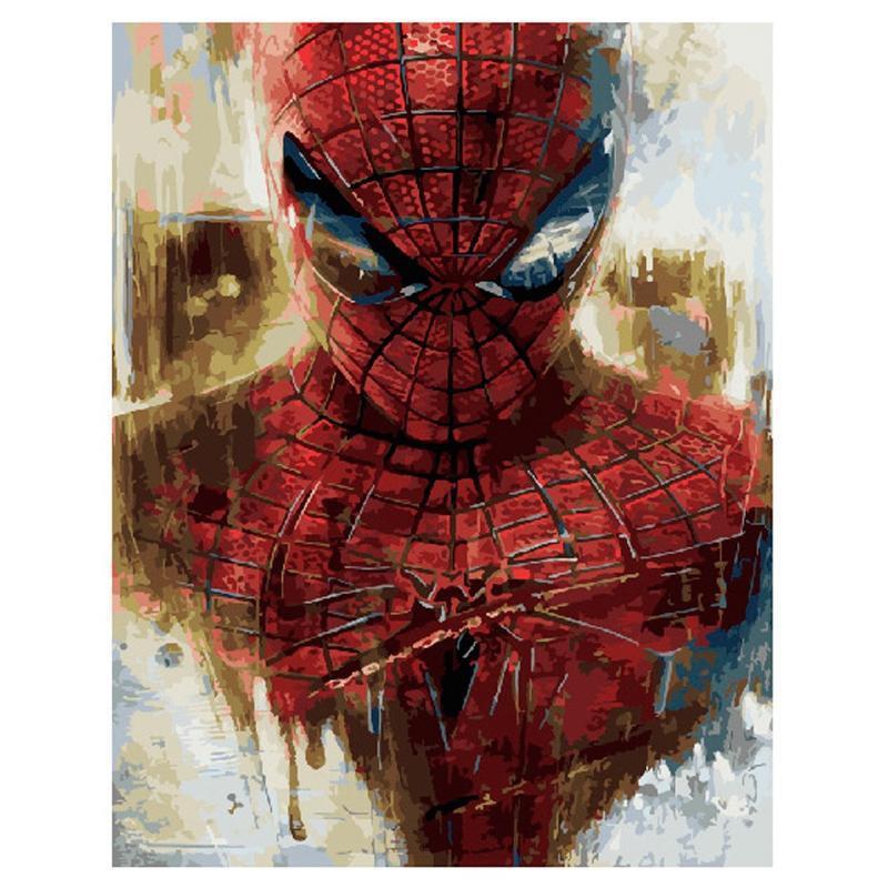 """Картина по номерам """"Человек-паук"""" — купить в интернет ..."""
