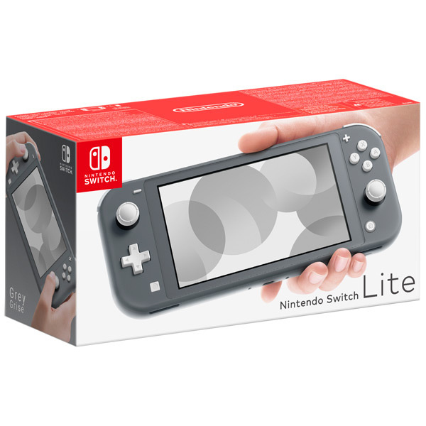Игровая консоль Nintendo Switch Lite, серый #1