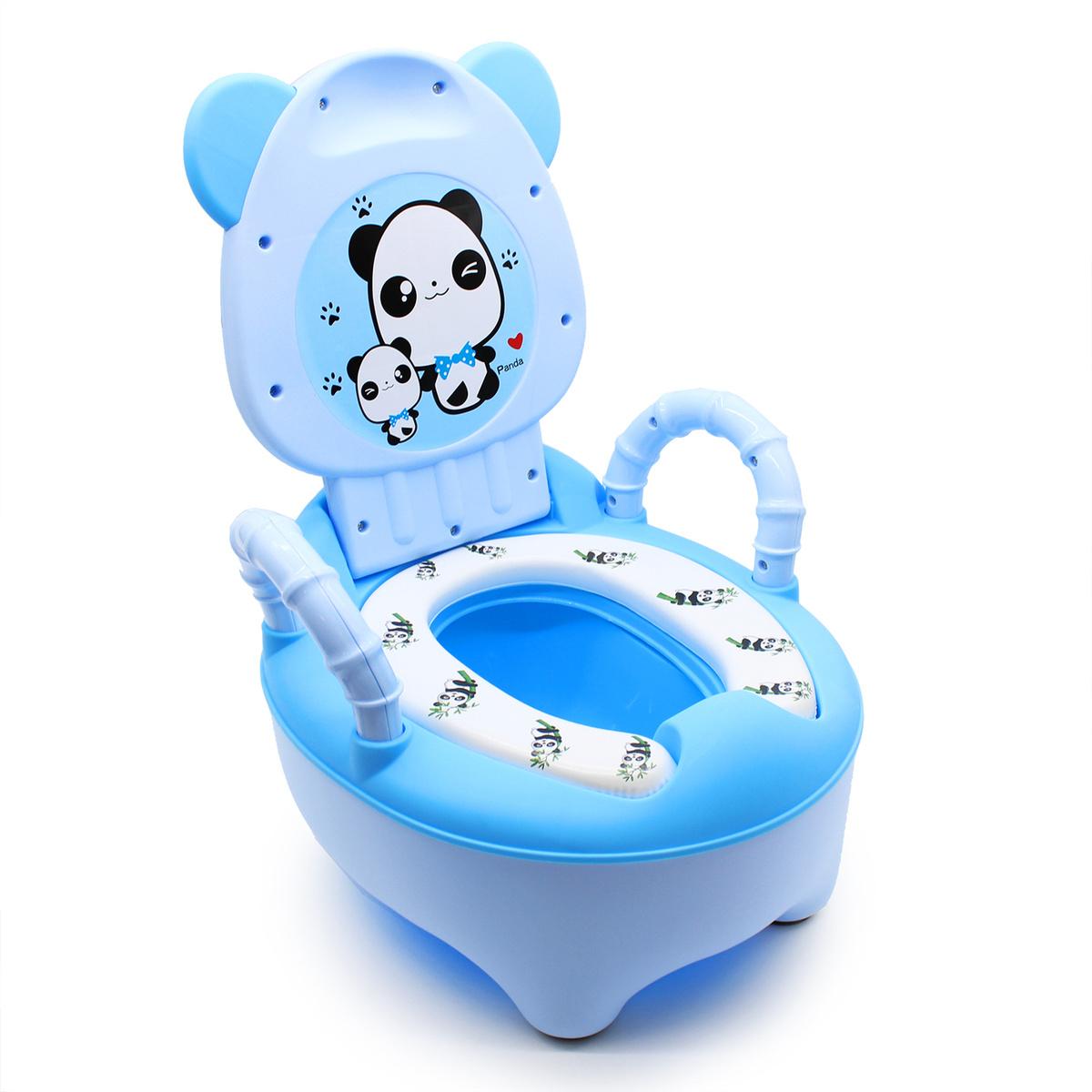 Ассорти Товаров Горшок детский Панда SOFT QUALITY переносной с ручками Синий  #1