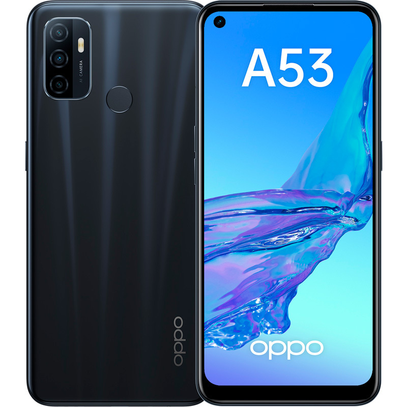 Смартфон OPPO A53 4/64GB, черный #1