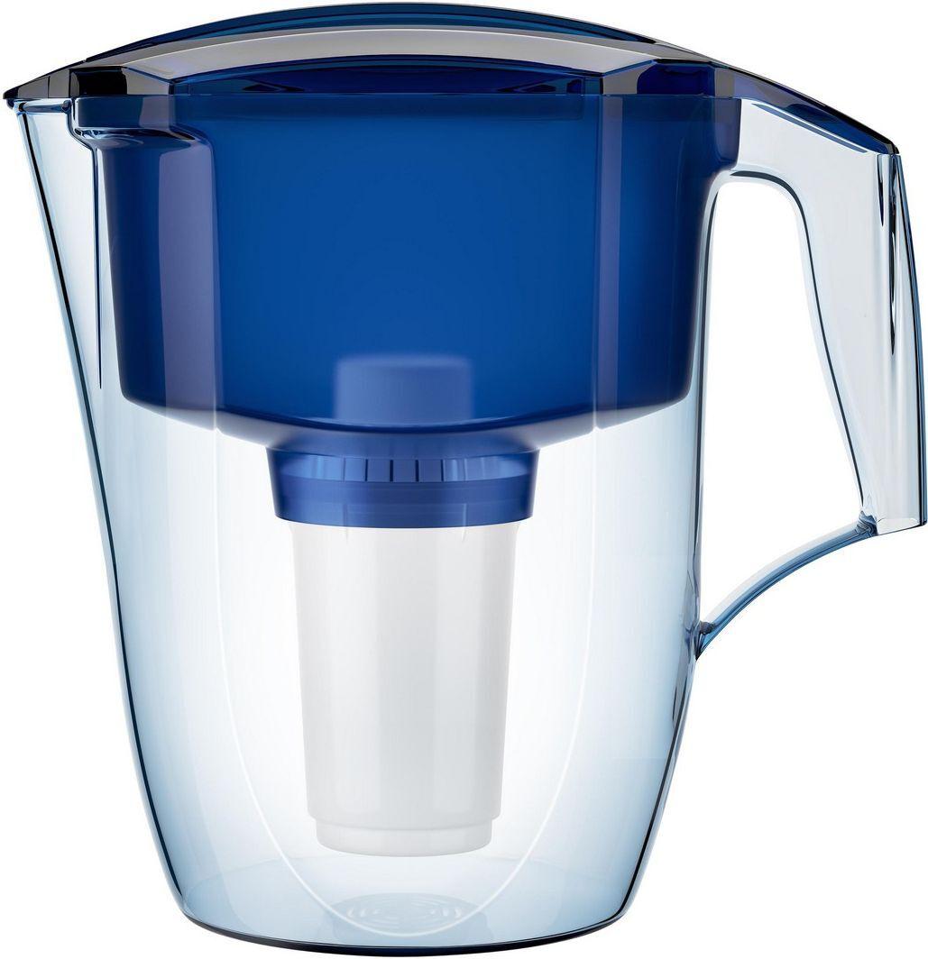 """Фильтр-кувшин для воды Аквафор """"Кантри"""", цвет: синий, прозрачный, 3,9 л  #1"""