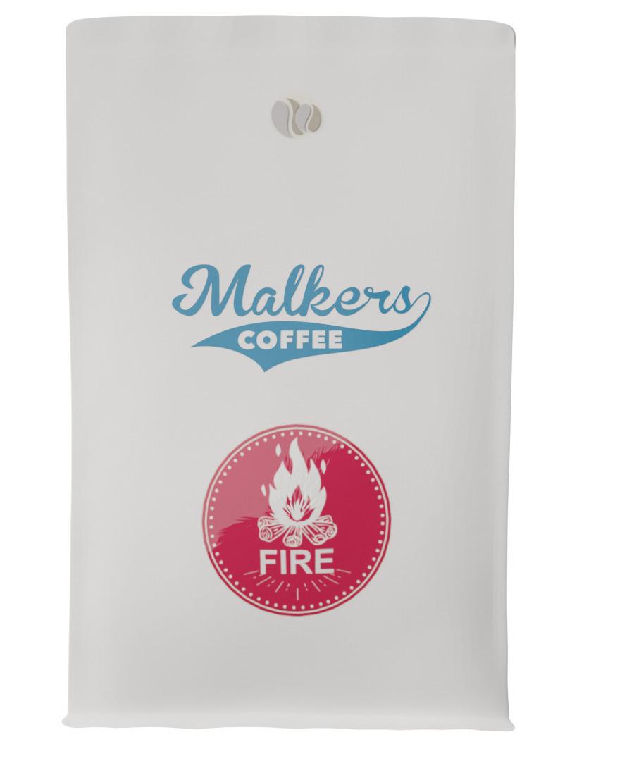 Кофе в зернах Malkers Fire #1